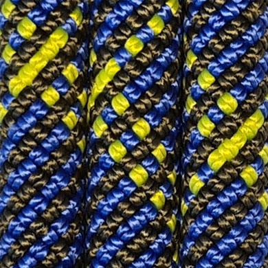 blau/schwarz/neongelb