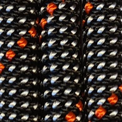 schwarz/weiß/orange